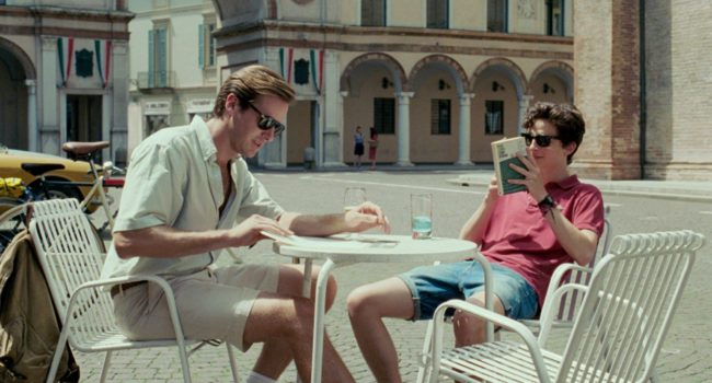 film in uscita a gennaio: Call me by your name