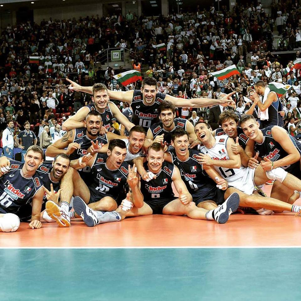 Italia maschile volley Europei bronzo