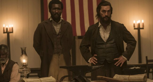 Free State of Jones: Moses con Newton