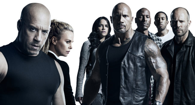 The Fate of The Furious: cast