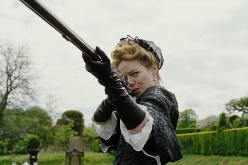 The Favourite, Emma Stone - Abigail
